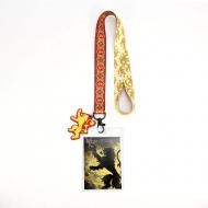 Game of Thrones - Dragonne avec porte-clés House Lannister 43 cm
