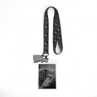 Game of Thrones - Dragonne avec porte-clés House Stark 43 cm