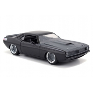 Fast & Furious - Réplique 1/24 Plymouth 1970 Letty's Barracuda metal