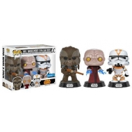 Star Wars - Pack 3 figurines POP! 2017 Fall Convention Exclusive 9 cm