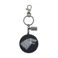 Game of Thrones - Porte-clés métal Stark Logo Silver