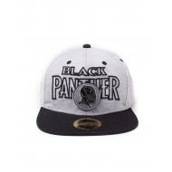 Marvel - Casquette Black Panther Metal Badge
