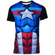 Marvel - T-Shirt Captain America