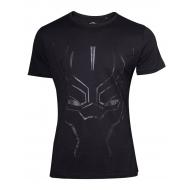 Black Panther - T-Shirt Black on Black Face