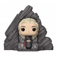 Game of Thrones - Figurine POP! Daenerys on Dragonstone Throne 15 cm