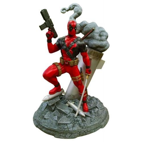 Marvel - Maquette Deluxe Deadpool 20 cm