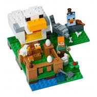 Minecraft Lego - Le poulailler