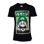 Super Mario - T-Shirt Propaganda Poster Inspired Luigi