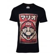 Super Mario - T-Shirt Propaganda Poster Inspired Mario