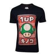 Super Mario - T-Shirt Propaganda Poster Inspired 1-Up Mushroom