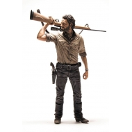 The Walking Dead - Figurine Deluxe Rick Grimes 25 cm