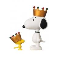 Peanuts - Mini figurines Medicom UDF serie 5 Crown Snoopy & Woodstock 8 - 3 cm