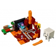 Minecraft - LEGO Le portail du Nether