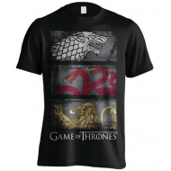 Game of thrones - T-Shirt 3 Sigils Row