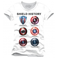 Avengers Assemble - T-Shirt Shield History