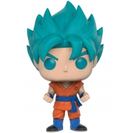 Dragon Ball Z Resurrection F - Figurine POP! Super Saiyan God Super Saiyan Goku (Blue) 9 cm