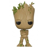 Les Gardiens de la Galaxie 2 - Figurine POP! Bobble Head Teenage Groot 9 cm
