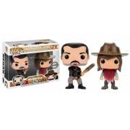 The Walking Dead - Pack 2 Figurine POP! Negan & Carl Grimes 9 cm