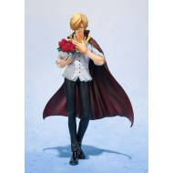 One Piece - Statuette FiguartsZERO Sanji Whole Cake Island Ver. Tamashii Web Exclusive 17 cm