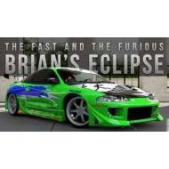 Fast & Furious - Réplique métal 1/24 Mitsubishi Eclipse 1995