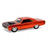 Fast & Furious 7 - Réplique métal 1/32 Plymouth Road Runner Orange 1970