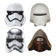 Star Wars - Pack 4 aimants Captain Phasma, Kylo Ren, Stormtrooper, Snowtrooper
