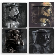Star Wars - Pack 4 Assiettes Villains