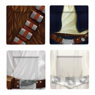 Star Wars - Pack 4 Assiettes Jedi