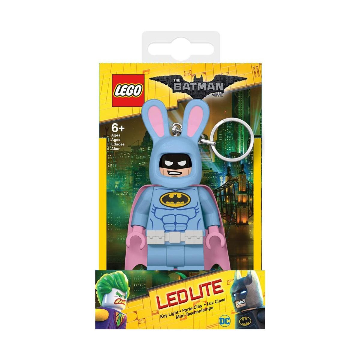 lego batman - mini lampe de poche avec chaînette bunny batman