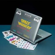 Space Invaders - Set autocollants