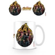 Avengers Infinity War - Mug Icon Of Heroes