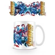 Avengers Infinity War - Mug Red Blue Assemble