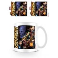Avengers Infinity War - Mug Space Montage