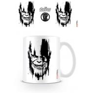 Avengers Infinity War - Mug Thanos Stencil Drip