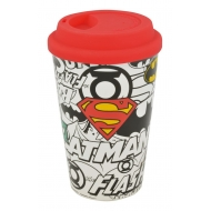 Justice League - Mug de voyage Logos