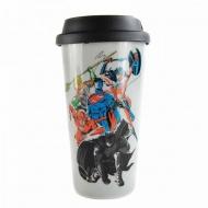 Justice League - Mug de voyage Team