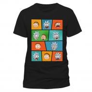 Rick et Morty - T-Shirt Pop Art Faces