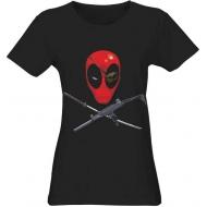 Deadpool - T-Shirt femme Head