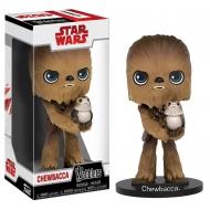 Star Wars Episode VIII - Figurine Wacky Wobbler Bobble Head Chewbacca 15 cm