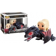Game of Thrones - Figurine  POP! Daenerys & Drogon 18 cm