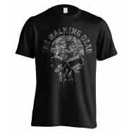 Walking Dead - T-Shirt Skull Camo