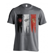 Game of thrones - T-Shirt House Flags