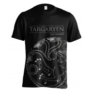 Game of thrones - T-Shirt Targaryen House Outline
