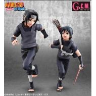 Naruto Shippuden G.E.M. Series - Statuettes Uchiha Itachi & Sasuke 16 - 18 cm