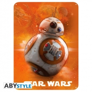 Star Wars - Plaque métal BB8 (28x38)