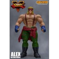 Street Fighter V - Figurine 1/12 Alex 18 cm
