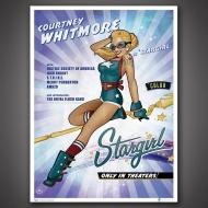 DC Comics Bombshells - Lithographie Stargirl 46 x 61 cm