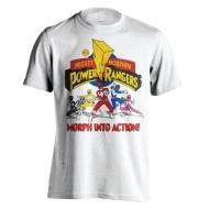 Power Rangers - T-Shirt Morph Into Action