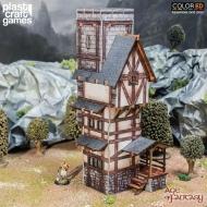 Age of Fantasy ColorED - Maquette pour jeu de figurines 28 mm Scholar's Tower