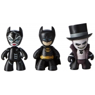 Batman Le Defi - Pack 3 figurines Mez-Itz 5 cm